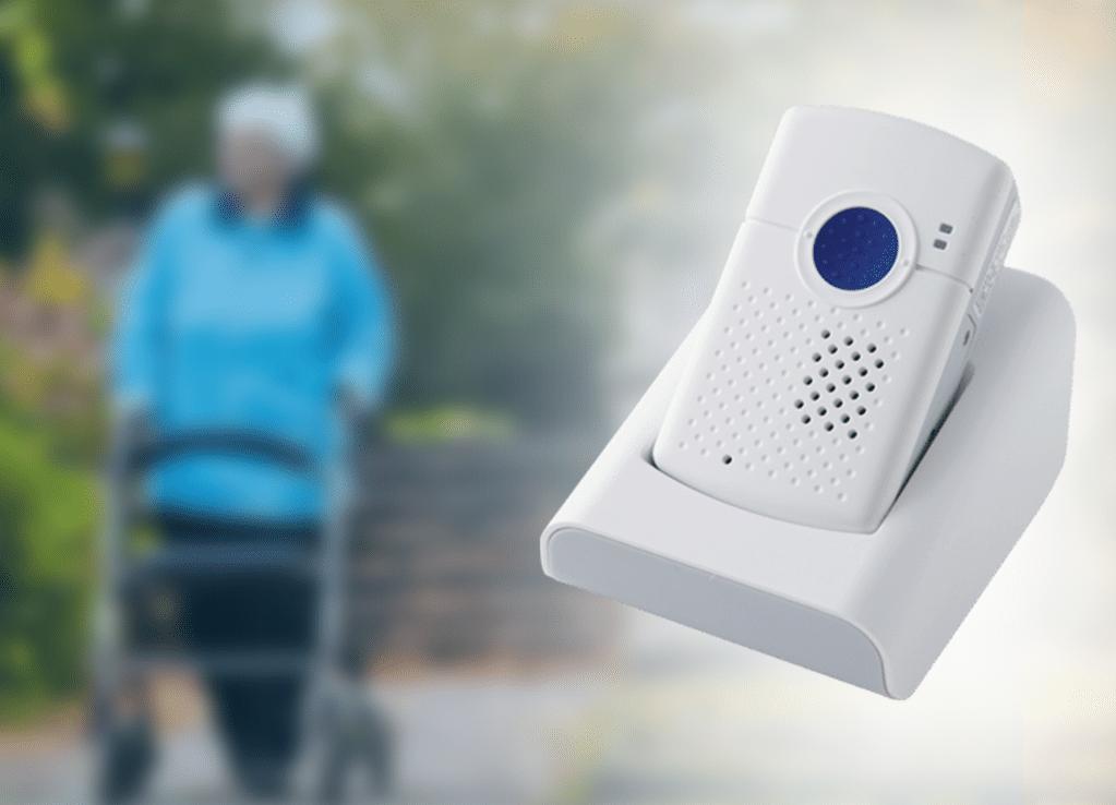 IntelligentCARE overfaldstryk med positionering både inden- og udendørs til borger og medarbejder