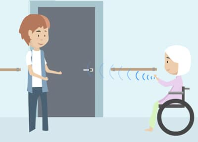 Automatisk døroplåsning og demenssikring i én og samme løsning