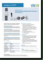 Produktark Alarmtryk / Overfaldstryk / Vandrealarm