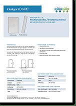 Produktark positionssender / positionsantenne