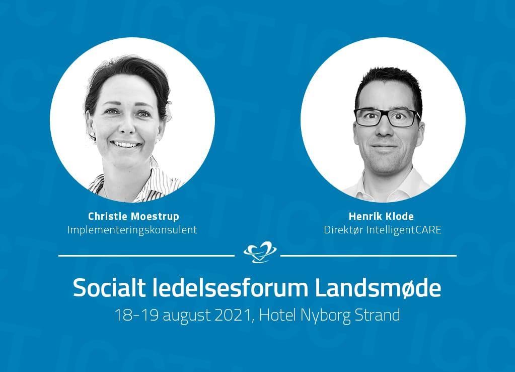 IntelligentCARE deltager på socialt ledelsesforum landsmøde
