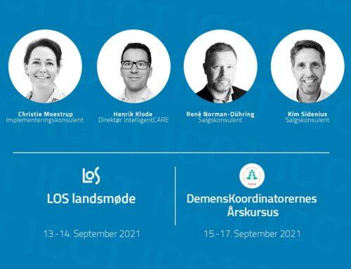 IntelligentCARE deltager på LOS- landsmøde og DemensKoordinatorernes Årskursus
