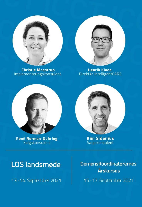 IntelligentCARE deltager på DKDK årskursus og LOS-Landsmøde