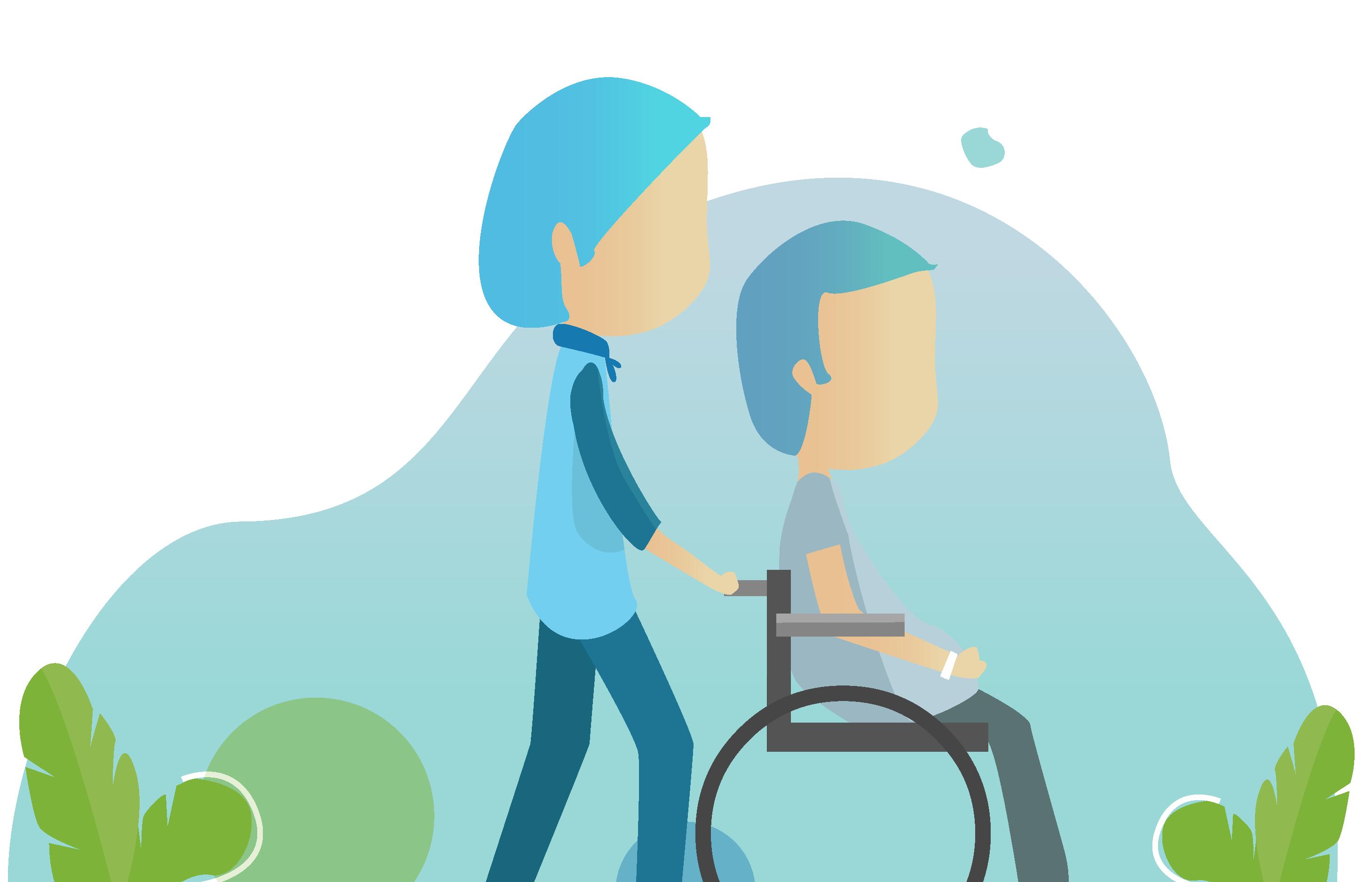 IntelligentCARE kaldesystem til borgere med handicap