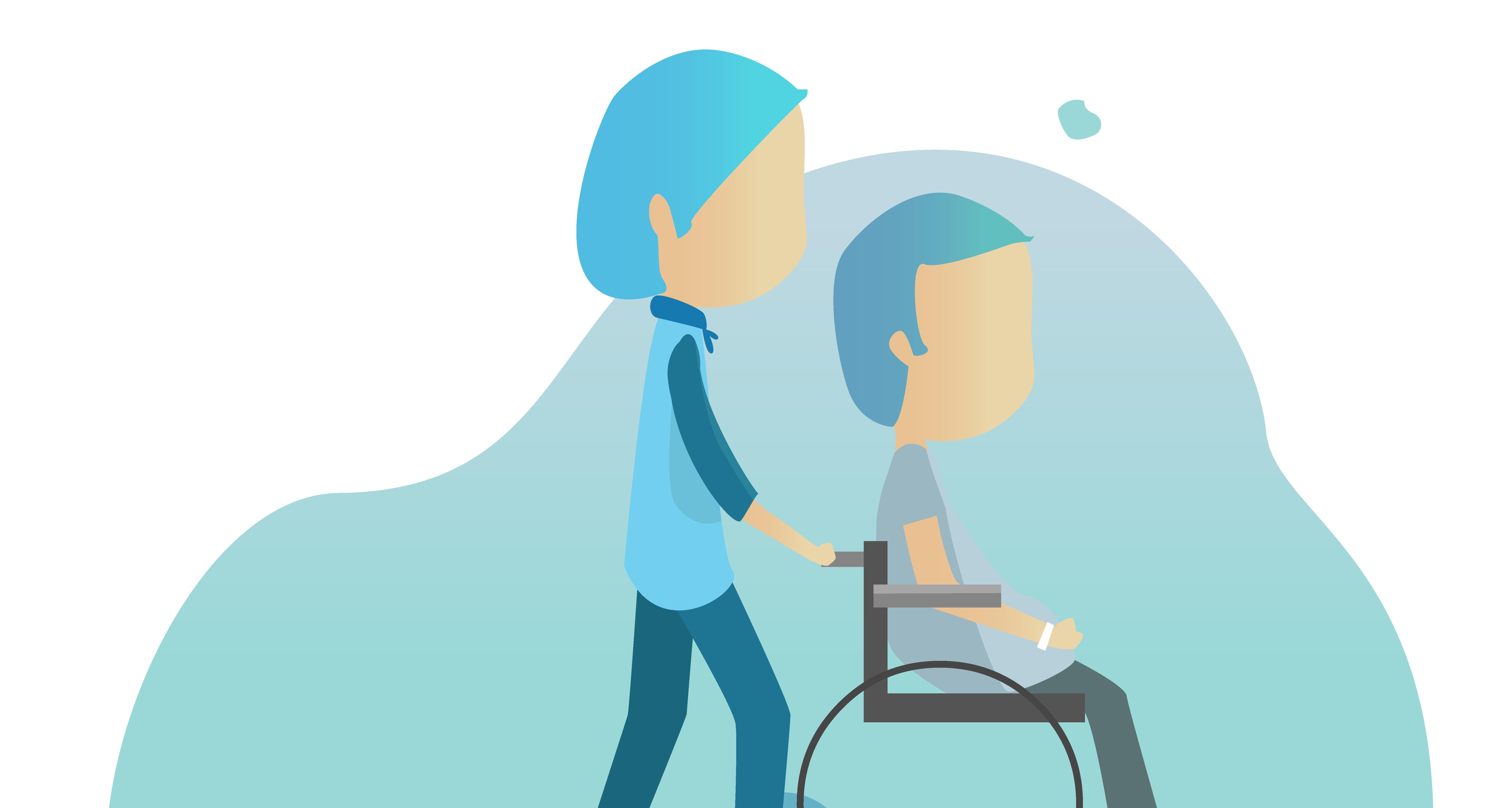 IntelligentCARE tilbyder en sikker alarmtryks og sikkerhedsløsning til borgere med handicap